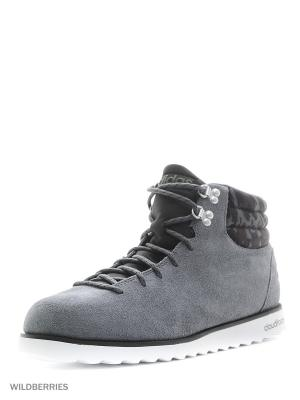 Ботинки CLOUDFOAM RUGGED Adidas. Цвет: серый, антрацитовый