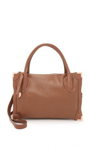 Обрамленная сумка-портфель Foley + Corinna