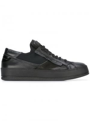 Кроссовки на шнуровке Bruno Bordese. Цвет: чёрный