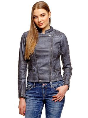 Куртка TOM TAILOR. Цвет: серый, темно-серый, бронзовый