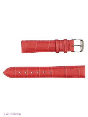 Ремень для часов, им.АЛЛИГАТОРА J.A. Willson. Цвет: красный