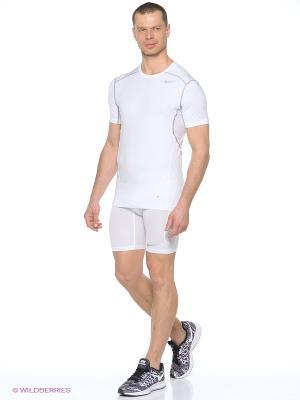 Шорты HYPERCOOL 6 SHORT Nike. Цвет: белый