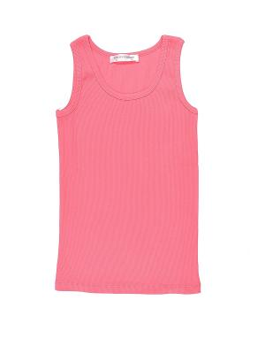 Топ для девочки Family Colors. Цвет: розовый