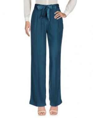 Повседневные брюки EQUIPMENT FEMME. Цвет: зеленый