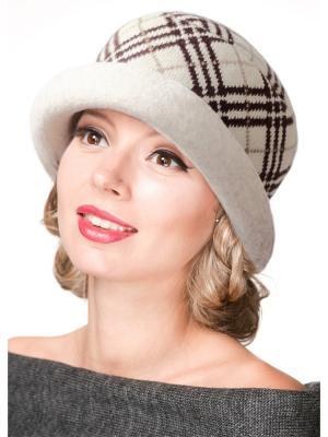 Шляпа Сиринга. Цвет: бежевый, коричневый