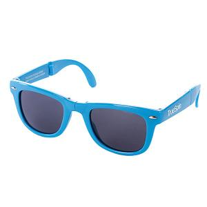 Очки True Spin Folding Sunglasses Blue TrueSpin. Цвет: голубой