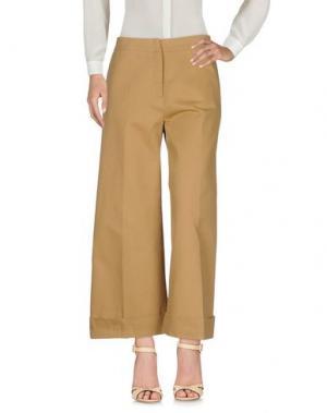 Повседневные брюки DANIELA PANCHERI. Цвет: верблюжий