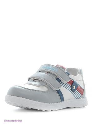 Ботинки Milton. Цвет: серый