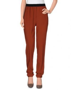 Повседневные брюки .TESSA. Цвет: коричневый