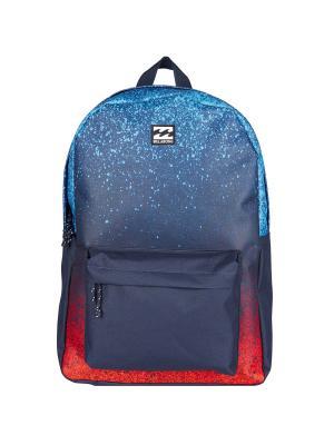 Рюкзак ALL DAY PACK (SS17) BILLABONG. Цвет: темно-синий, красный, лазурный