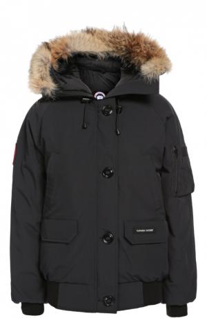 Куртка Canada Goose. Цвет: темно-синий