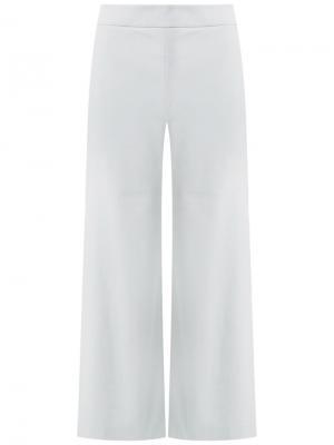 Cropped trousers Talie Nk. Цвет: серый