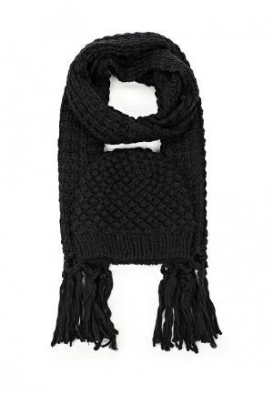 Комплект шапка и шарф Avanta. Цвет: черный