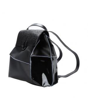 Рюкзаки и сумки на пояс CARMINA CAMPUS. Цвет: черный