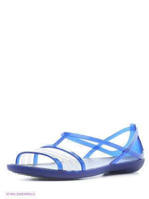 Сандалии CROCS. Цвет: темно-синий