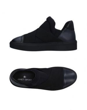 Низкие кеды и кроссовки JANET SPORT. Цвет: темно-синий