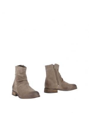 Полусапоги и высокие ботинки OCA-LOCA. Цвет: бежевый