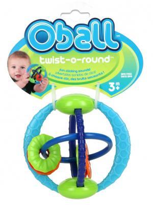 Развивающая игрушка Twist-O-Round Oball. Цвет: салатовый, синий