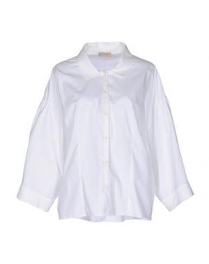 Pубашка MAISON ULLENS. Цвет: белый