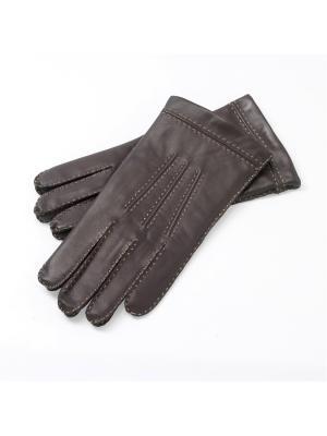 Перчатки Roeckl. Цвет: темно-коричневый