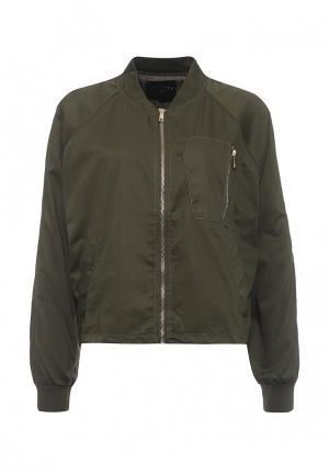 Куртка Art Love. Цвет: зеленый