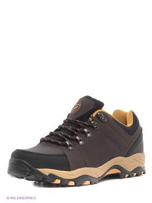 Повседневная обувь Ascot. Цвет: коричневый, бежевый