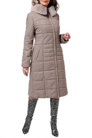 Пальто DizzyWay. Цвет: капучино