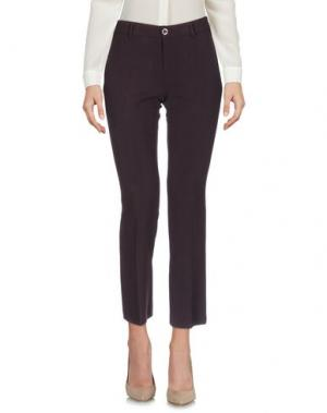 Повседневные брюки NINETTE. Цвет: баклажанный