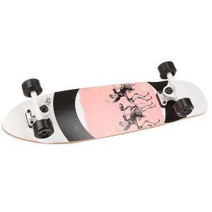 Скейт мини круизер  Cruiser Horseman 7.25 x 27.5 (69.5 см) Z-Flex. Цвет: розовый,белый,черный