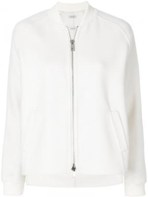 Классическая куртка-бомбер P.A.R.O.S.H.. Цвет: белый