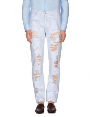 Повседневные брюки HAMAKI-HO. Цвет: белый