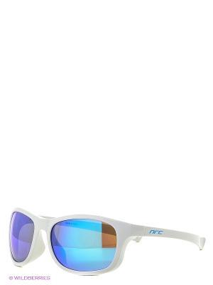 Солнцезащитные очки NRC. Цвет: белый