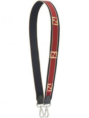 Лямка на плечо Strap You с логотипом Fendi. Цвет: красный