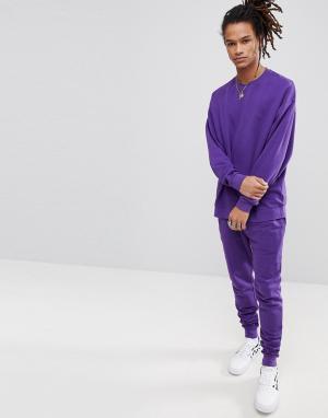 ASOS Фиолетовый спортивный костюм. Цвет: фиолетовый