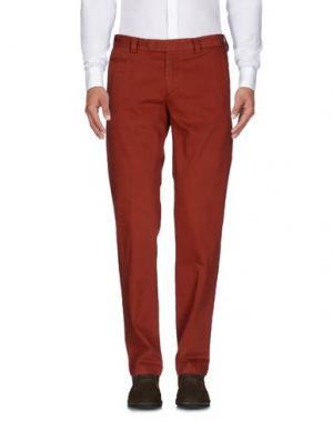 Повседневные брюки EXIBIT. Цвет: коричневый