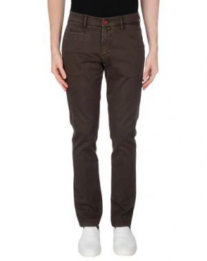 Повседневные брюки BARBATI. Цвет: темно-коричневый
