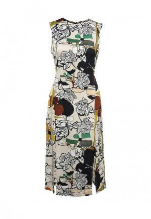 Платье Finery London. Цвет: разноцветный