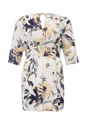 Платье Junarose. Цвет: белый