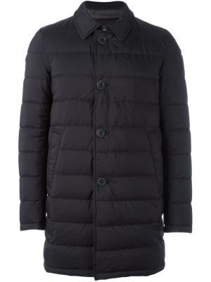 Двухсторонняя куртка Herno. Цвет: чёрный