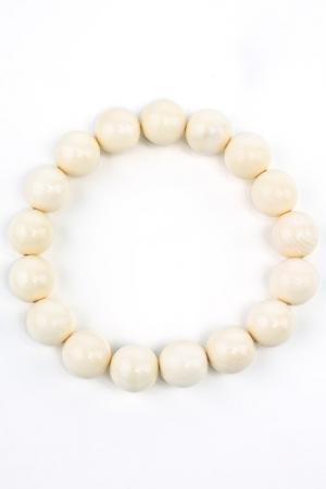Браслет Samsara. Цвет: белый