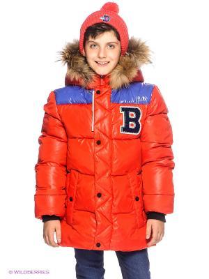 Куртка BOOM. Цвет: красный, черный, сиреневый