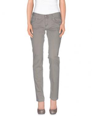 Повседневные брюки HEAVY PROJECT. Цвет: серый