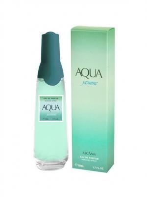 Парфюмерная вода Ascania  Aqua Jasmine women 50ml. Цвет: салатовый