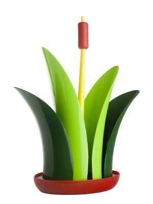 Бумагодержатель VIGAR. Цвет: зеленый