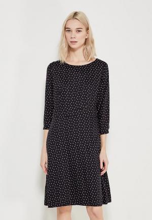 Платье Tom Tailor. Цвет: черный