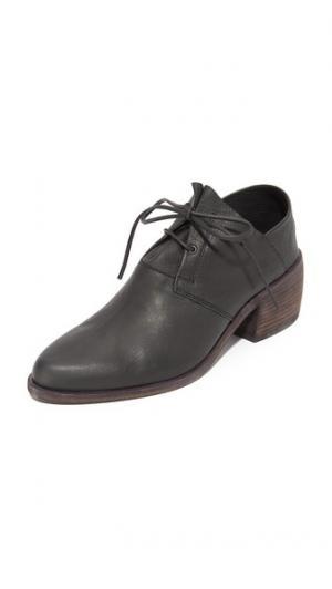Свод Оксфордский кожаные ботинки LD Tuttle. Цвет: голубой