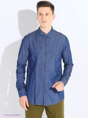 Рубашка Magnetiq. Цвет: синий