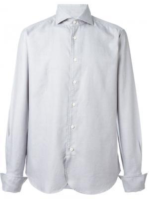 Классическая рубашка Al Duca D'Aosta 1902. Цвет: серый