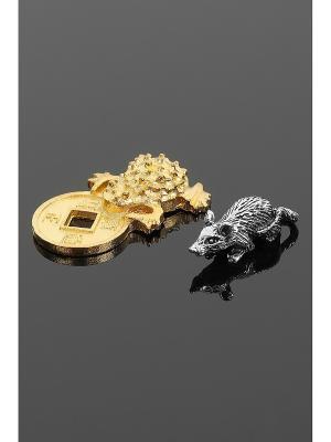 Оберег для кошелька (Лягушка, мышка) Migura. Цвет: золотистый, серебристый