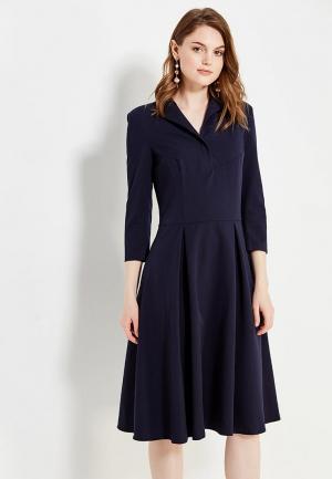 Платье Nife. Цвет: синий